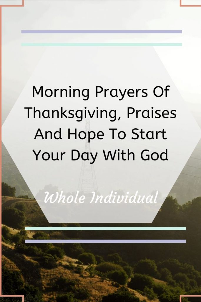morning prayers to start your day