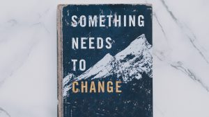 a book written something needs to change