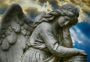 angel thinking- cant sit still?